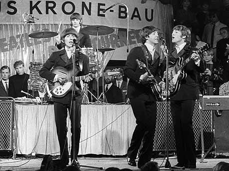 Ausrutscher nach rechts, Beatles; Foto: dpa