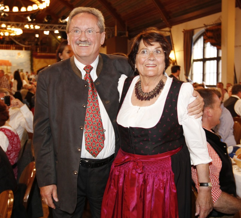 Traditioneller Maibock-Anstich