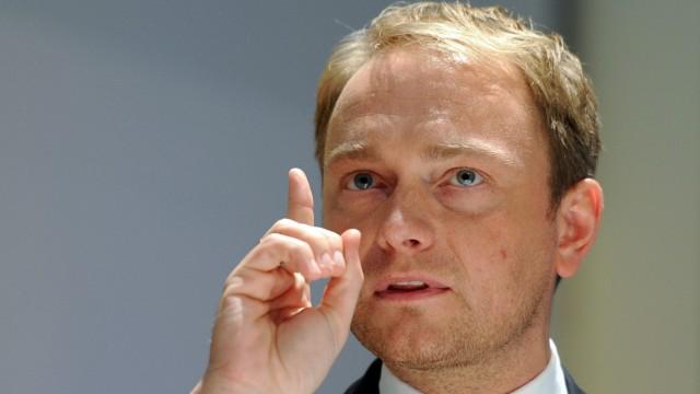 Seitdem er Spitzenkandidat ist, steigen die Werte der NRW-FDP: Christian Lindner.