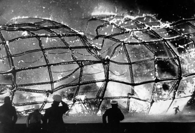 Vor 75 Jahren ging die 'Hindenburg' in Flammen auf