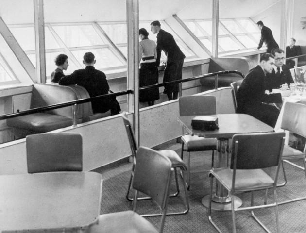 """Pressebesichtigung der LZ 129 """"Hindenburg"""""""