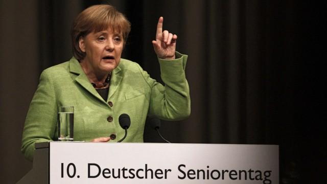 Merkel auf dem 10. Deutschen Seniorentag