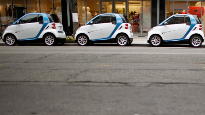 Car2go Launches First Electric Carsharing Program In Washington DC
