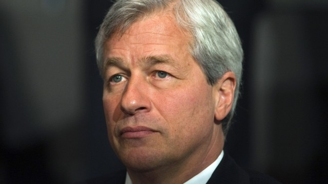 File photo of Jamie Dimon, chairman and chief executive of JP Morgan Chase and Co in New York