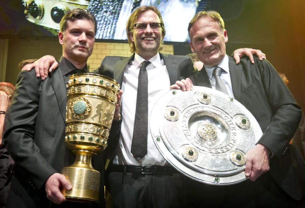 Borussia Dortmund feiert den Pokalsieg