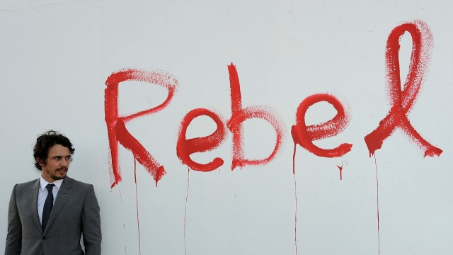 "James Franco eröffnet Ausstellung ""Rebel"""