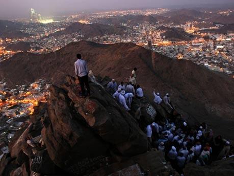 Mekka, Jabal Al Noor-Berg, Foto: AFP