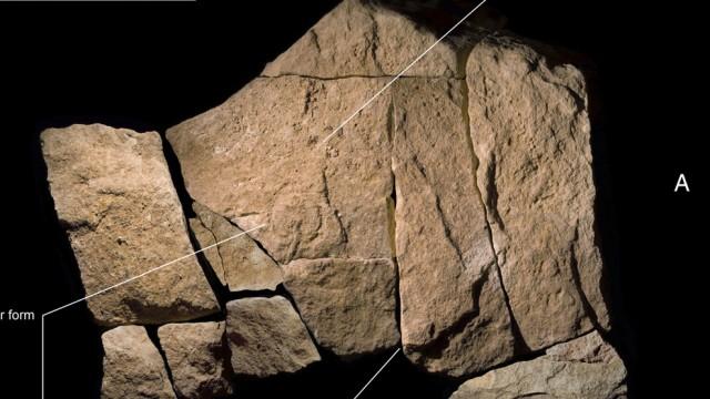 Älteste Höhlenmalerei der Welt in Abri Castanet entdeckt