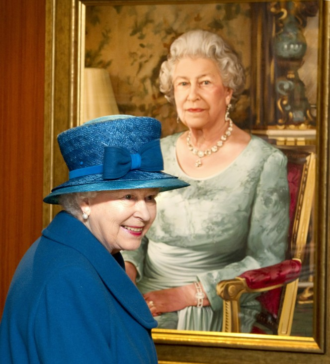 Queen Elizabeth Names New Cunard Vessel - Ceremony