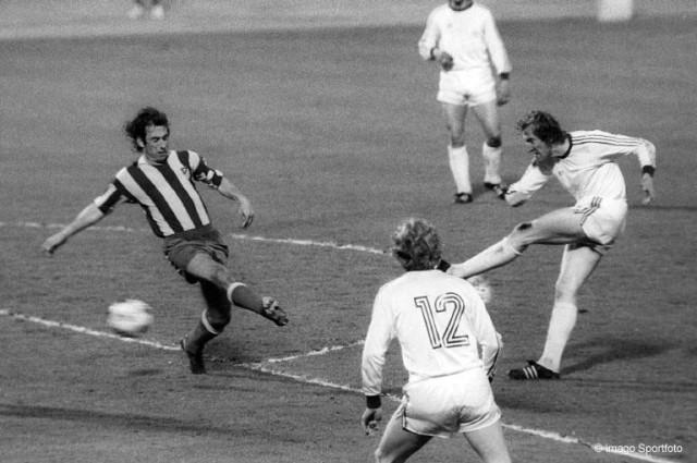 Bayern Atletico 1974 Spiel 1