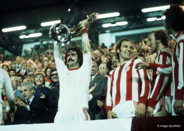 Bayern Atletico 1974 Spiel 2