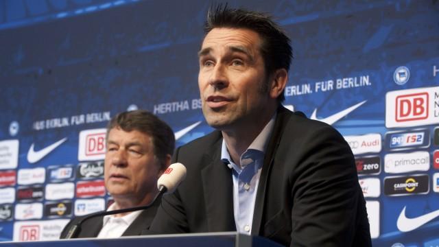 Pressekonferenz Hertha BSC