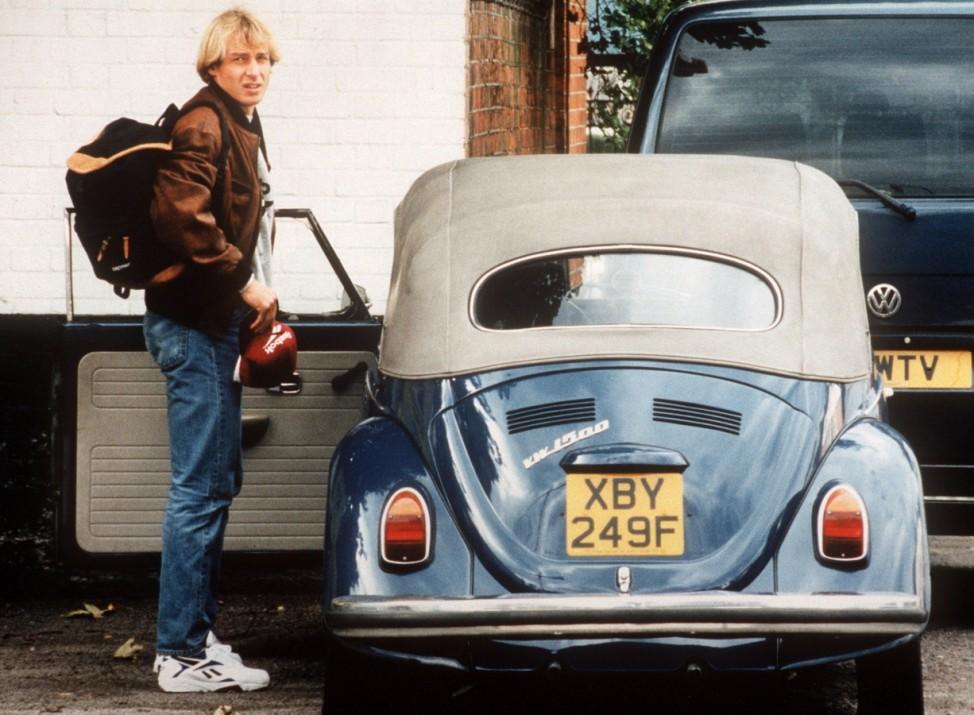 Früheres Käfer-Cabrio von Klinsmann ein Hit bei Ebay