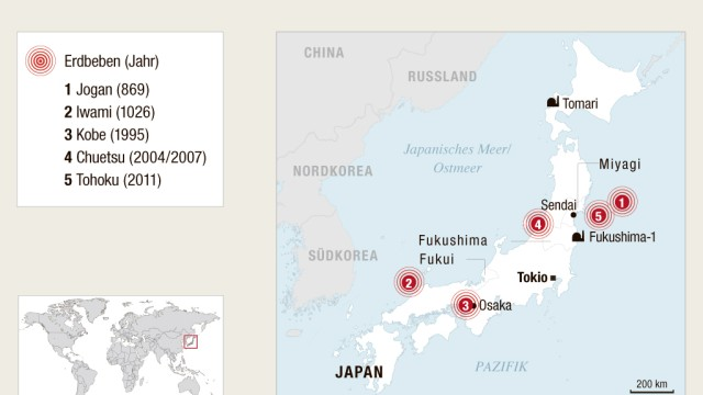 Erdbeben und Tsunamis: undefined