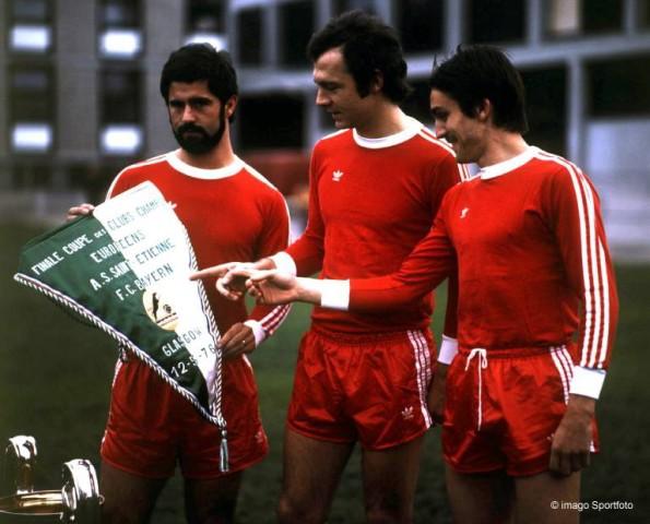 Gerd Müller, Franz Beckenbauer, Jupp Kappellmann