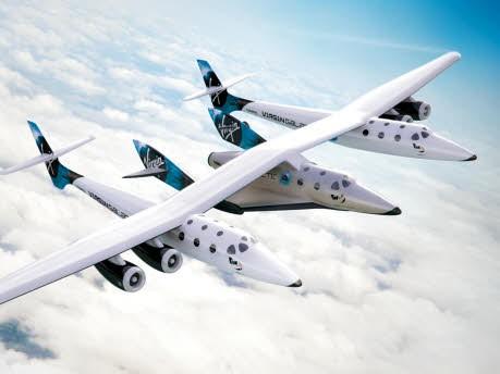 SpaceShipTwo, VirginGalactic/dpa