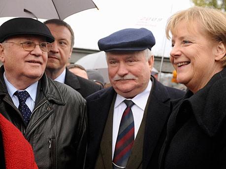 Mauerfall Angela Merkel