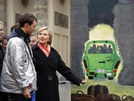 US-Außenministerin Hillary Clinton, AP