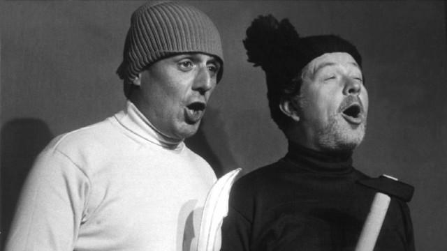 Klaus Havenstein und Dieter Hildebrandt, 1968