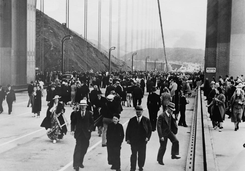 Golden Gate Bridge San Francisco USA, 1937
