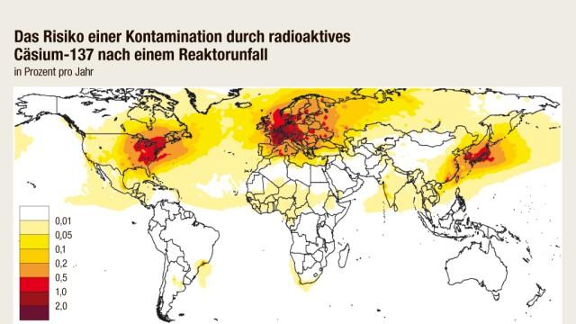 Cäsium-137 nach Reaktorunfall