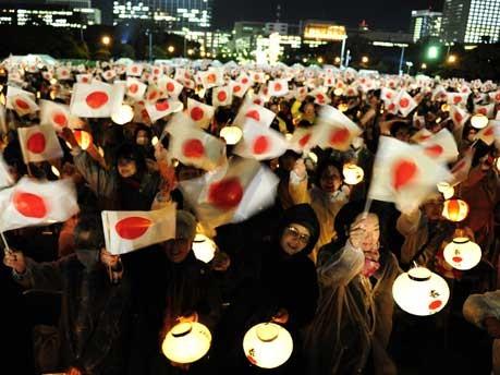Japans Kaiser feiert 20. Jahrestag der Thronbesteigung;AP
