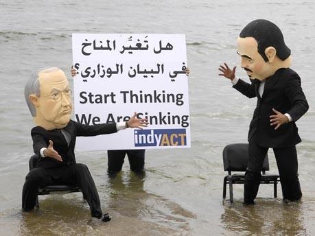 Klimaschutz-Demo im Libanon;Reuters