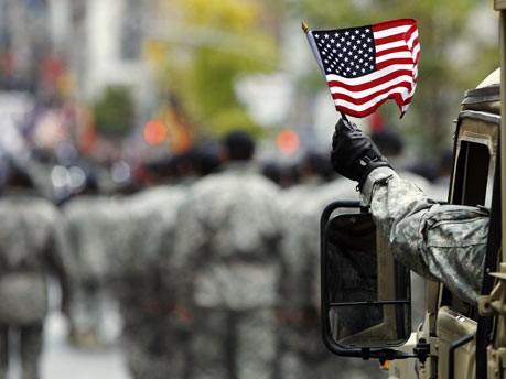 Tag der Veteranen in New York; Reuters