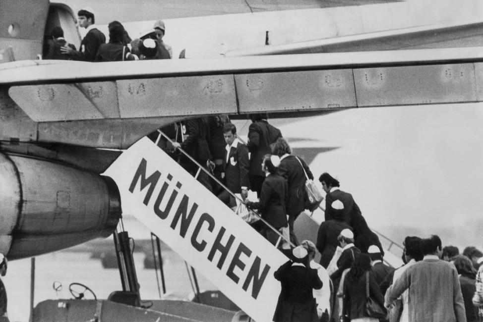 Olympische Spiele in München, 1972: Terroranschlag