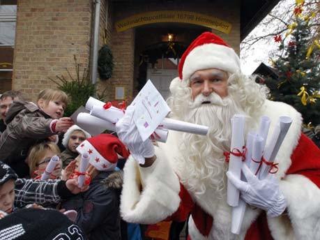Beliebteste Weihnachtspostfiliale eröffnet;dpa