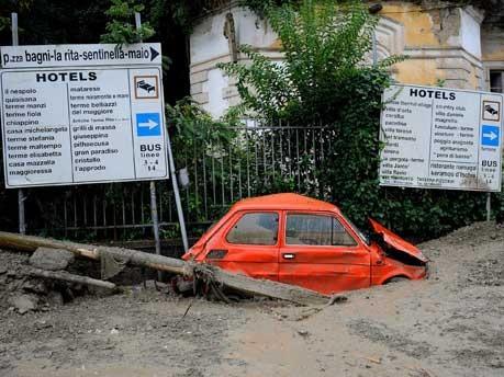 Erdrutsch auf Ischia;AFP