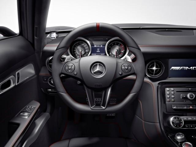 Mercedes SLS AMG GT Fahrersicht