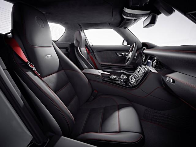 Mercedes SLS AMG GT Beifahrersicht