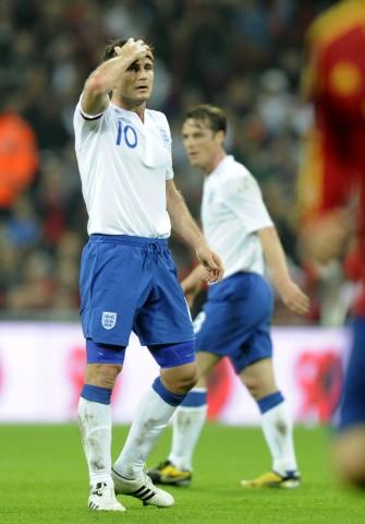 Schock fuer England: Lampard faellt fuer die EM aus