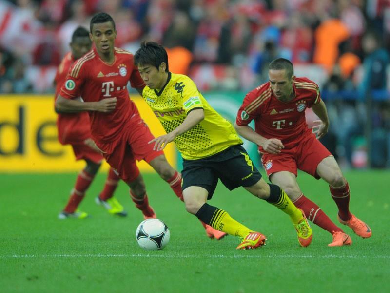 Frank Ribéry, DFB-Pokalfinale, FC Bayern München - Borussia Dortmund, 2012