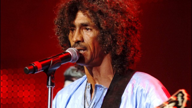 Tinariwen performs at the Montreux Jazz Festival in Montreux, Switzerland on July 10th, 2006.