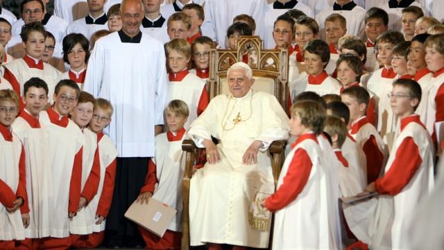 Papst in Bayern - Regensburg