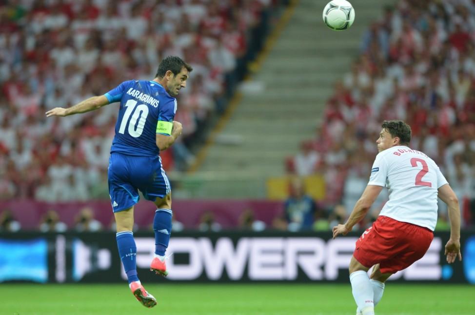 Griechenland Polen Karagounis EM Europameisterschaft Fußball