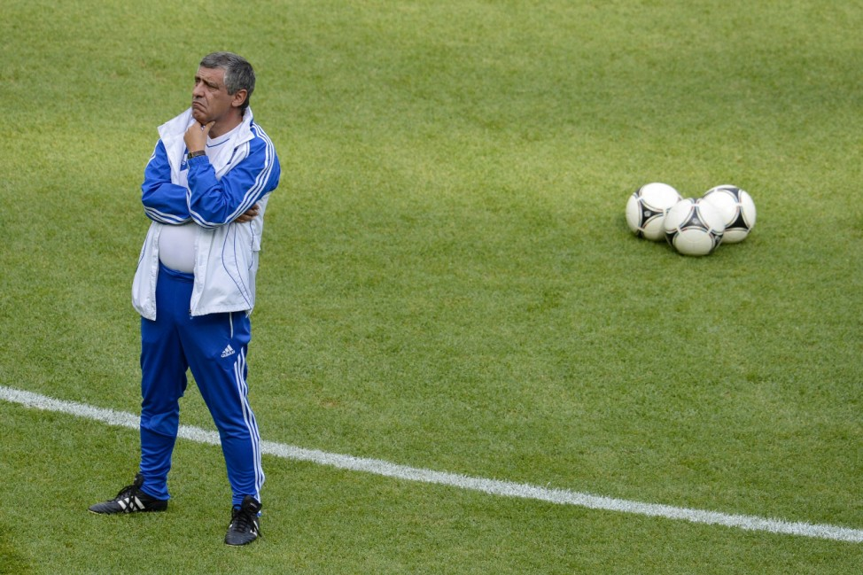 Griechenland Santos Euro EM Europameisterschaft Fußball Tschechien