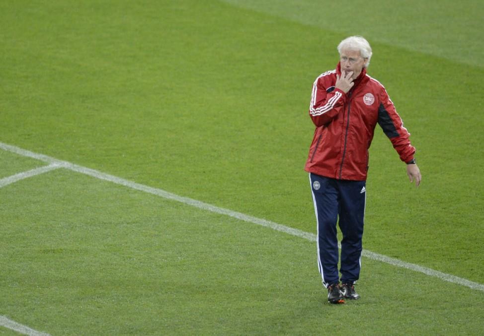 Euro 2012: Training Daenemark