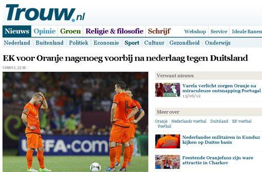 Pressestimmen Holland Deutschland