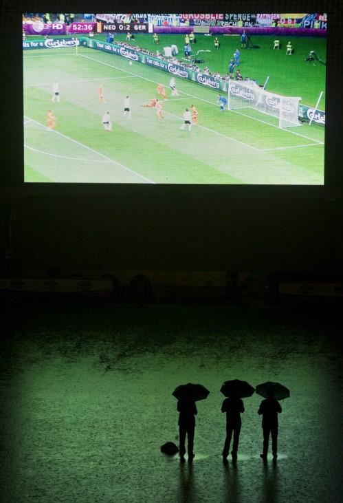 EURO 2012: Public Viewing Muenchen