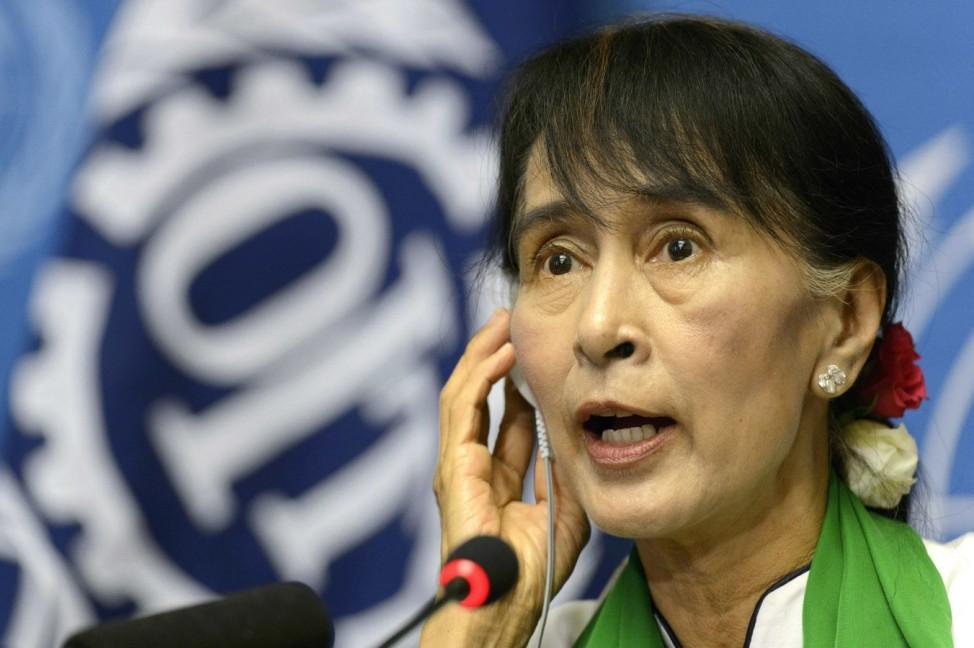 Aung San Suu Kyi in Genf
