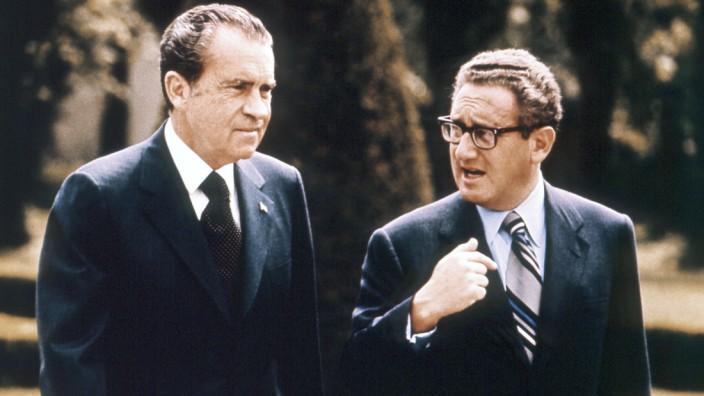 Richard Nixon Henry Kissinger 1972 Wien