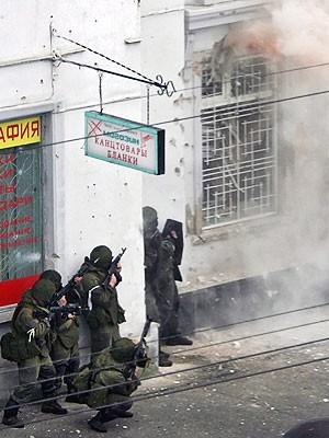 Anschlag Naltschik Russland, dpa