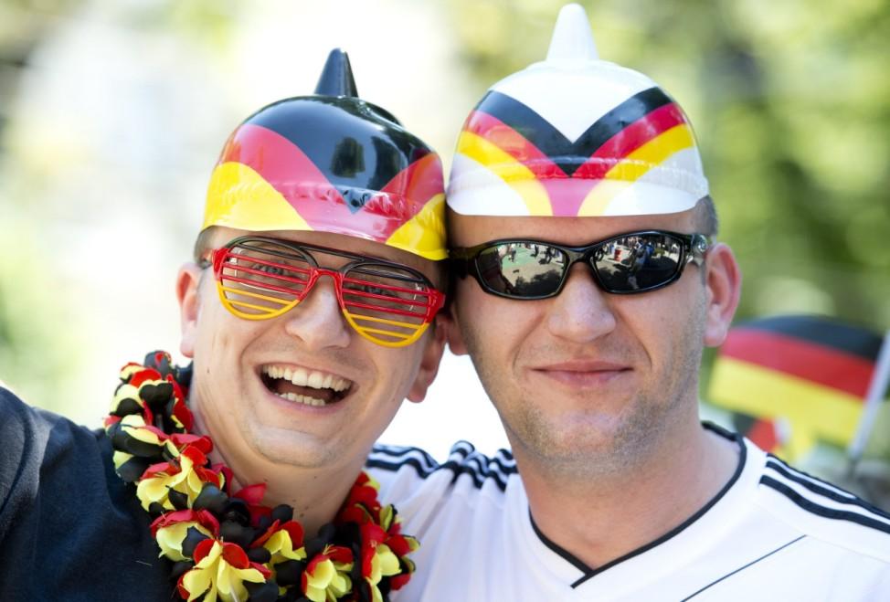 EURO 2012: Fans in Lwiw