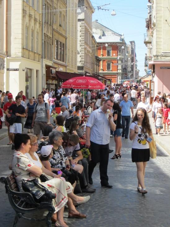 Lemberg Eindrücke EM Polen ukraine