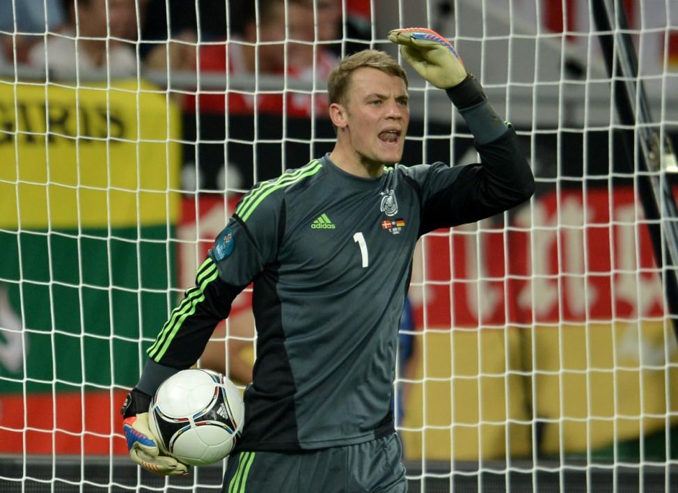 EURO 2012 EM Europameisterschaft Dänemark - Deutschland Neuer