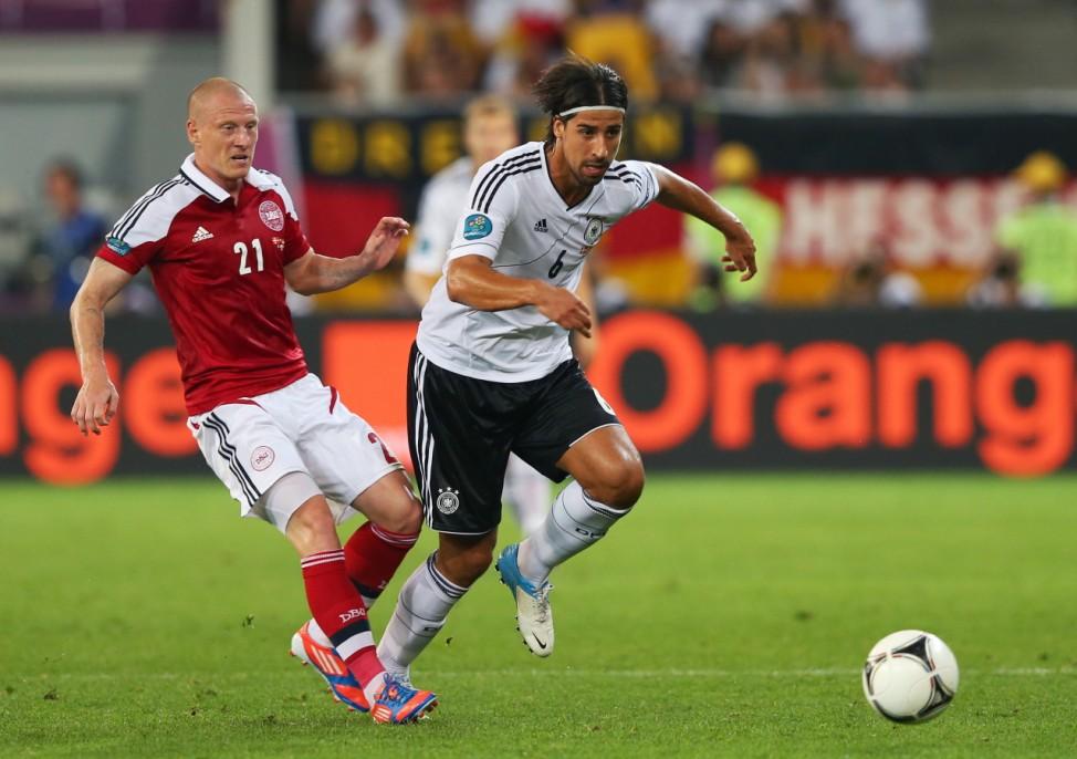 EURO 2012 EM Europameisterschaft Dänemark - Deutschland Khedira