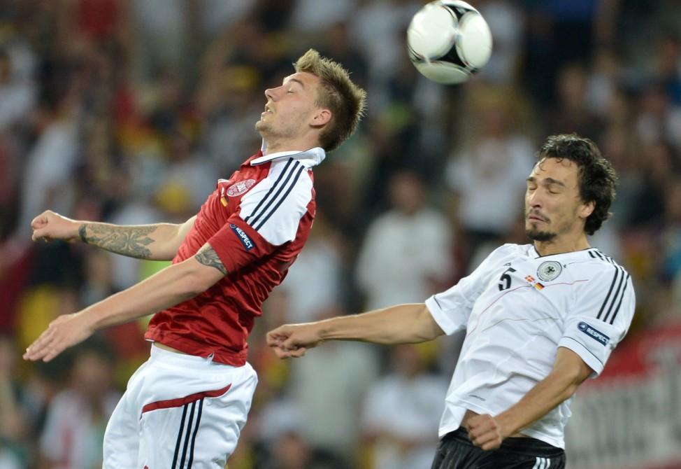 EURO 2012 EM Europameisterschaft Dänemark - Deutschland Hummels